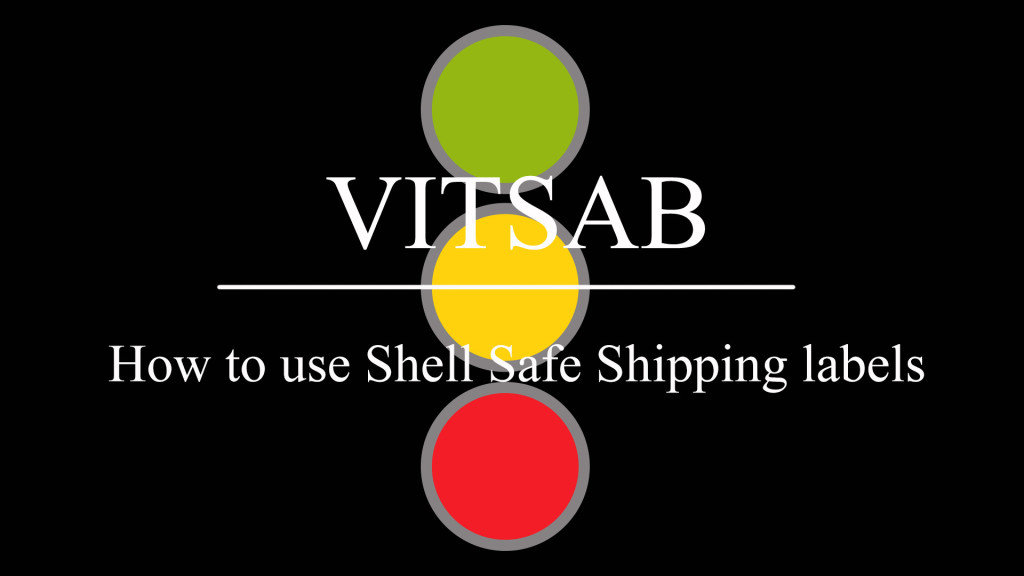 How to use Shell Safe Shipping labels